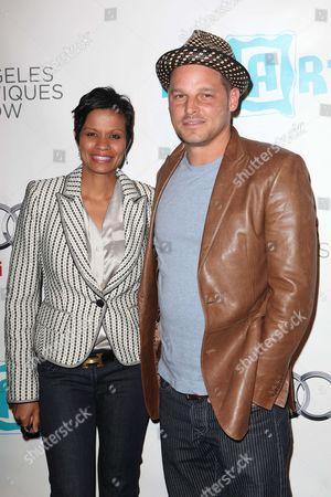 Stock Image of Justin Chambers and Keisha Chambers