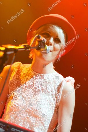 Editorial photo of Tuppeny Bunters in concert at Koko, London, Britain - 14 April 2011