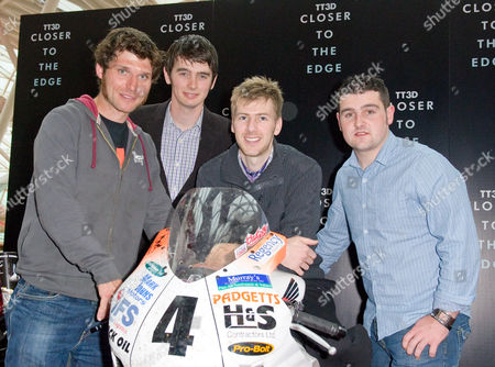 Guy Martin, Conor Cummins, Ian Hutchinson and Michael Dunlop TT Riders