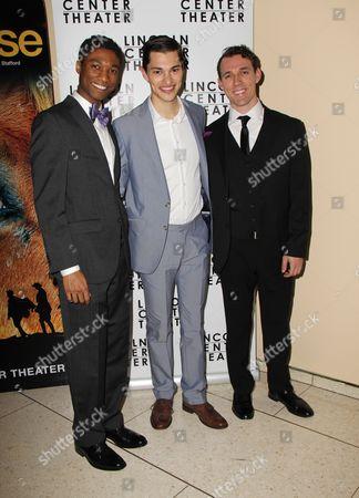 Stock Picture of Jude Sandy, Zach Villa, Alex Hoeffler