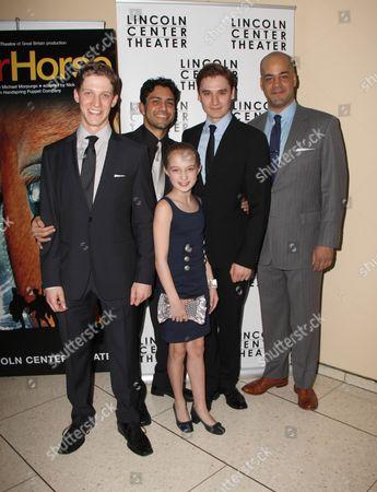 Editorial photo of 'War Horse' Play Opening Night, New York, America - 14 Apr 2011