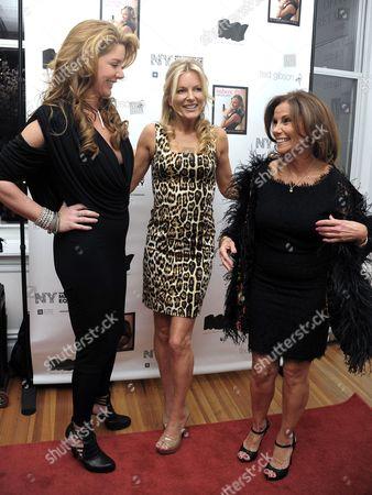 Stock Photo of Mary Schmidt Amons, Cat Ommanney and Lynda Erkiletian