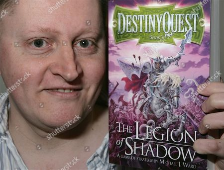 Editorial photo of 'Destiny Quest The Legion Of Shadow' Michael J Ward book signing, Waterstones, Reading, Britain - 16 Apr 2011