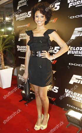 Editorial picture of 'Fast and the Furious 5' Film Premiere, Rio de Janeiro, Brazil - 16 Apr 2011
