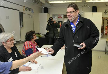 Editorial photo of General elections, Finland - 17 Apr 2011