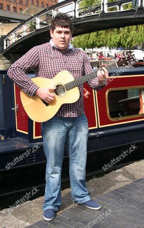 Editorial photo of 'Britain's Got Talent' star Michael Collings, Camden, London, Britain - 16 Apr 2011