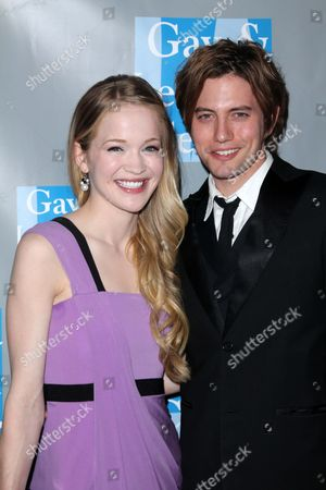 Stock Photo of Melissa Carnell and Jackson Rathbone