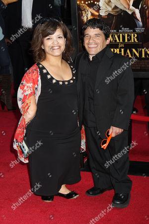 Mark Povinelli with wife Heather Povinelli