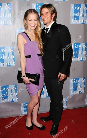 Stock Picture of Melissa Carnell and Jackson Rathbone
