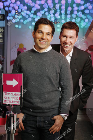 Editorial image of Founders and owners of Snog frozen yogurt shops, Soho, London, Britain - 20 Dec 2010