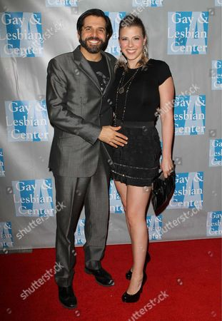 Stock Picture of Jodie Sweetin (R) and Morty Coyle