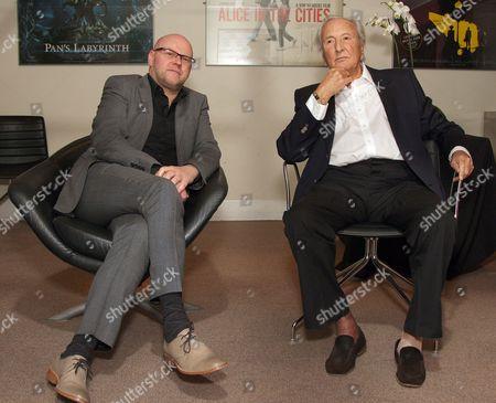 Stock Image of Eddie Berg and Michael Winner