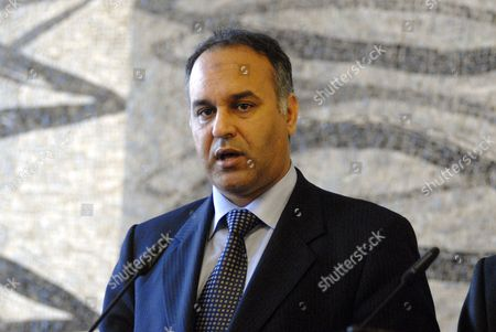 Stock Image of Minister of Foreign Affairs Ali Abd-al-Aziz al-Isawi