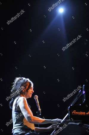 Editorial image of Lisa Germano in concert in Bruxelles, Belgium - 19 Apr 2011