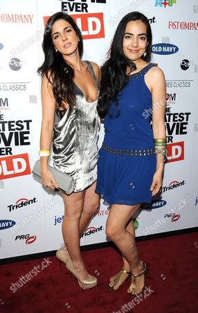 Electra Avellan and Tina Rodriguez