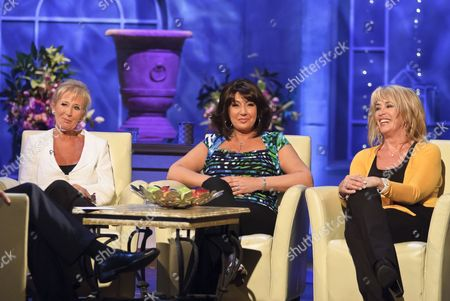 Sue Carroll, Jane McDonald and Carole Malone