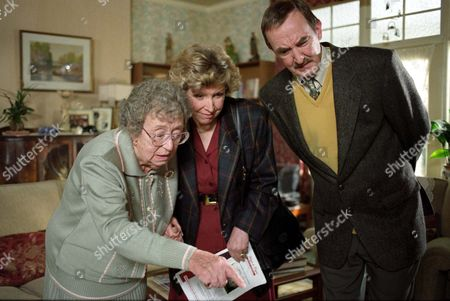 Thora Hird, Anne Reid and Keith Clifford