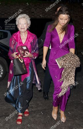 Eve Branson and guest