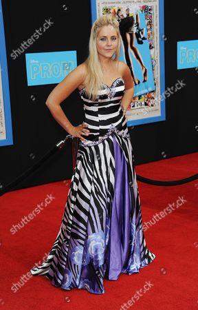 Editorial image of 'Prom' Film Premiere, Los Angeles, America - 21 Apr 2011