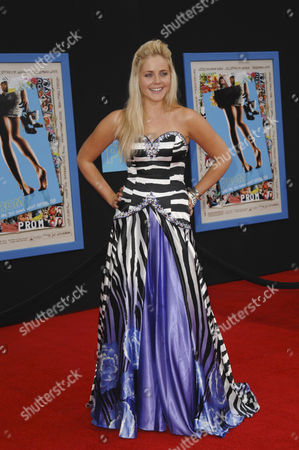 Editorial picture of 'Prom' film premiere, Los Angeles, America - 21 Apr 2011