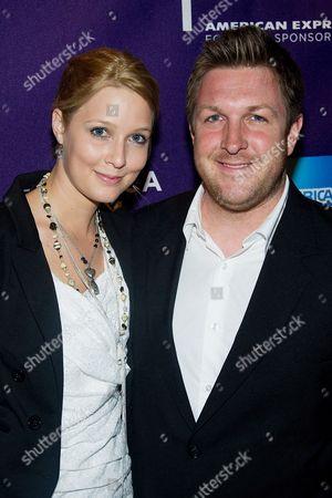 David Darg and wife