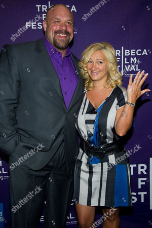 Stock Image of Hugo Girard and Nadine Tremblay