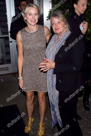 Naomi Watts and mother, Myfanwy Edwards