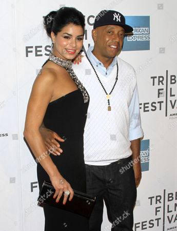 Miss USA Rima Fakih and Russell Simmons