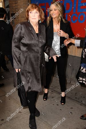 Anne Meara and Christine Taylor