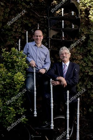 Hugh Brasher, the new director of the London Olympic marathon and David Bedford