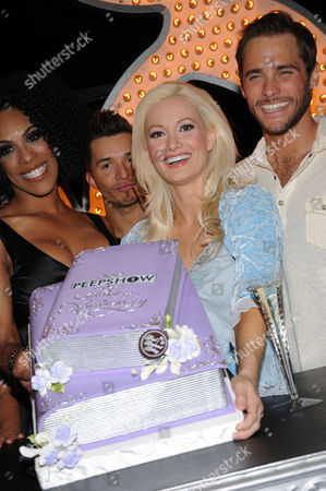 Cheaza, Holly Madison and Josh Strickland