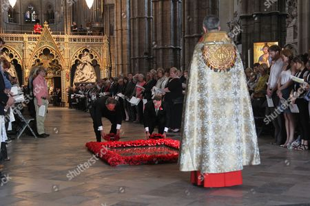 Editorial image of Service of Commemoration and Thanksgiving to mark ANZAC Day, Westminster Abbey, London, Britain - 25 Apr 2011