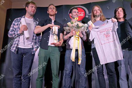 Maroon 5 - Michael Madden, Jesse Carmichael, Adam Levine, James Valentine and Matt Flynn