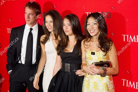 Amy L Chua and family