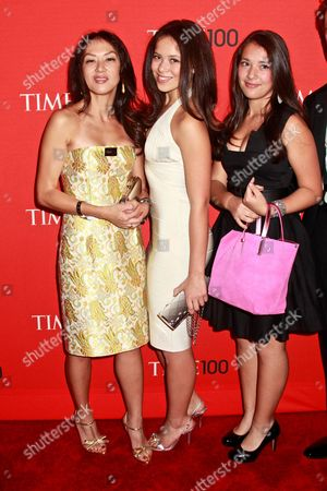 Amy L Chua with daughters Sophia Chua-Rubenfeld and Louisa (Lulu)