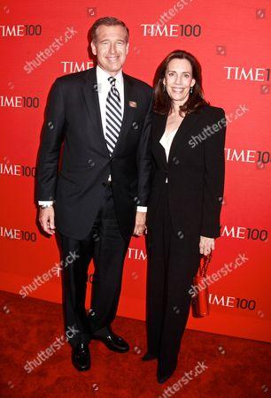 Brian Williams and wife Jane Stoddard Williams