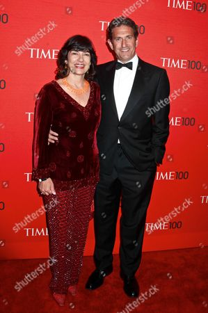 Christiane Amanpour and husband James Rubin
