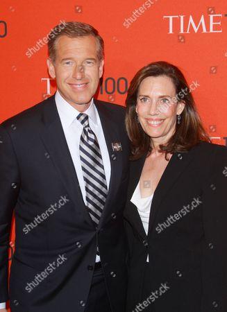 Brian Williams and Jane Stoddard Williams