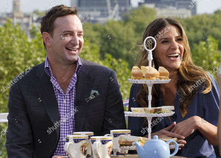 Clinton Kelly and Amanda Byram