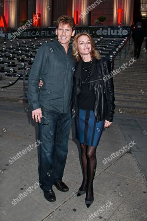 Denis Leary and wife Ann Lembeck