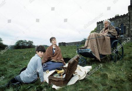 Graham McGrath as William Frankenstein, Susan Wooldridge as Hustine and Terence Alexander as Alphonse Frankenstein