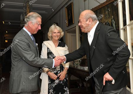 Prince Charles, Camilla Duchess of Cornwall and His Majesty King George Tupou V of Tonga
