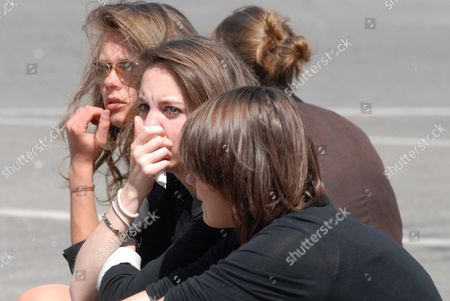 The funeral for the five murdered members of the Dupont de Ligonnes family