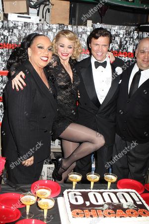 Roz Ryan, Christie Brinkley and Brent Barrett
