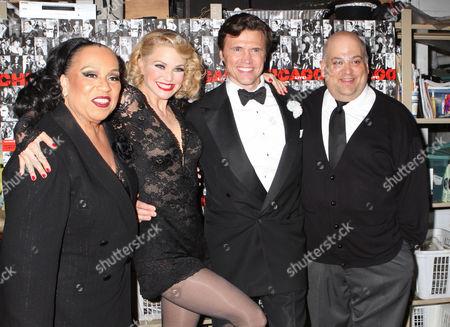 Roz Ryan, Christie Brinkley, Brent Barrett and Raymond Bokhour