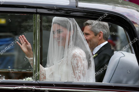 Catherine Middleton and father Michael Middleton