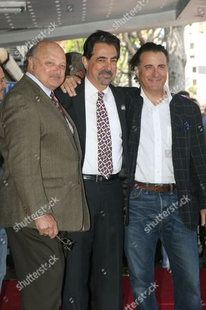 Dennis Franz, Joe Mantegna and Andy Garcia