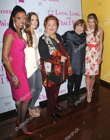 B Smith and Minka Kelly and Conchata Ferrell and Anne Meara and AnnaLynne McCord