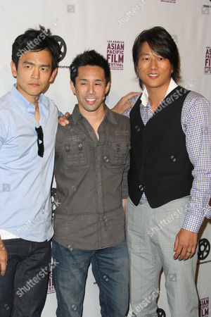 Stock Picture of John Cho, Parry Shen and Sung Kang