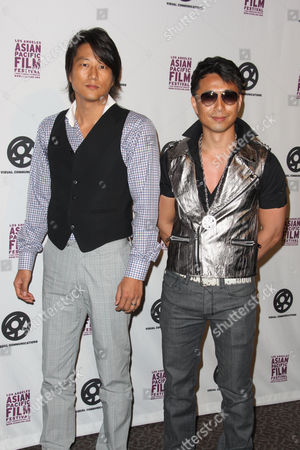 Stock Picture of Sung Kang and James Kyson Lee